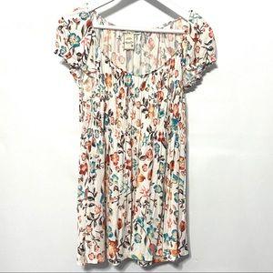 American Rag floral 1XL blouse short sleeve